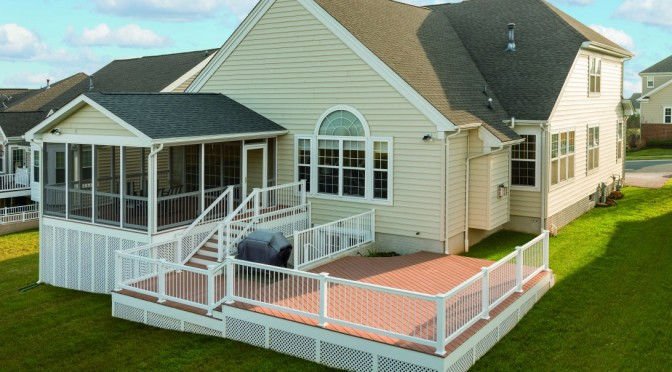 custom built decks and designs quality built amish decks sunrooms